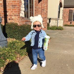 Baby/toddler white converse